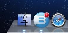 Brosix Mac Doc notification