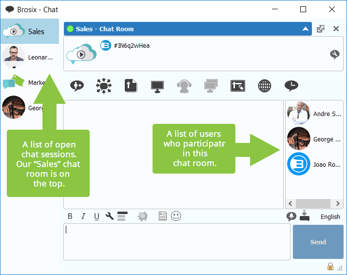 Widow chat room