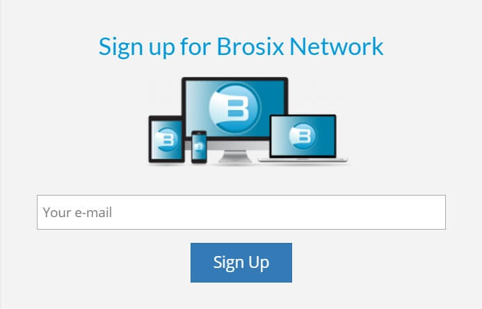 sign up Brosix