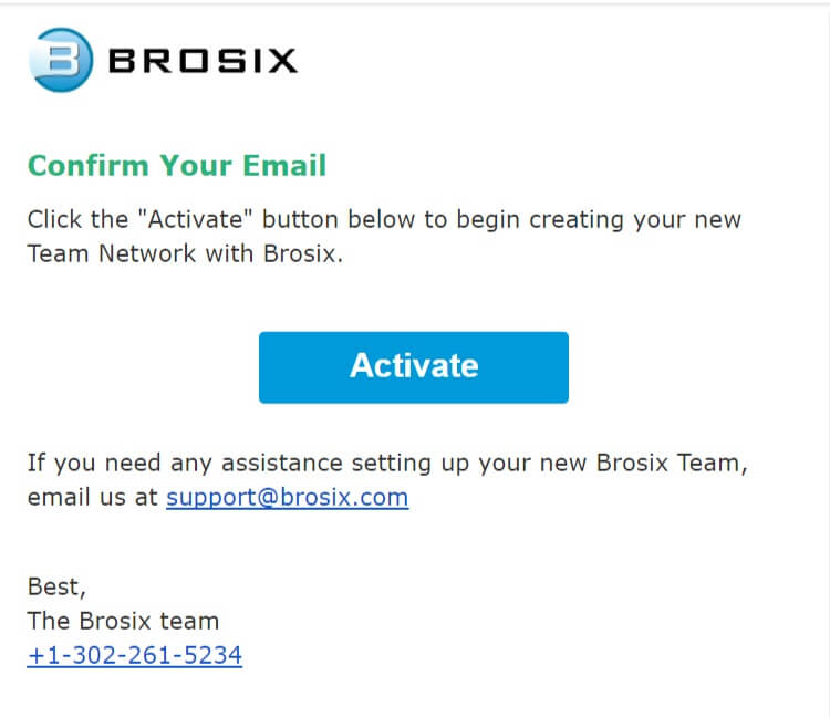 Sign up for Team Network - Brosix Help Library