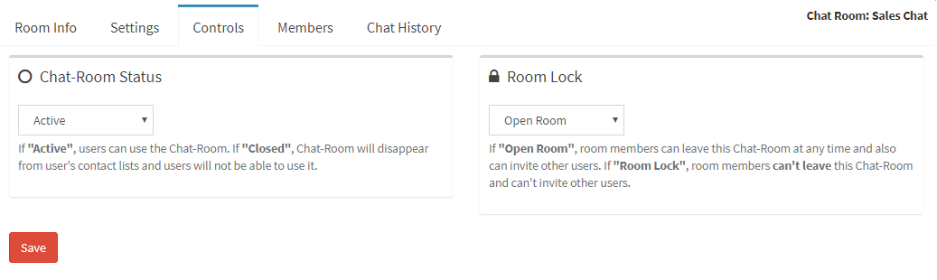 how to control your chat room