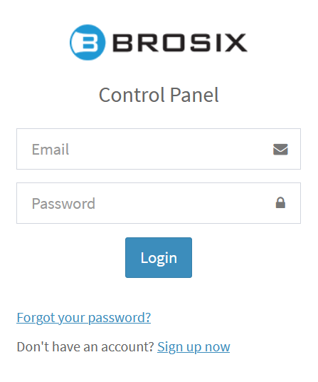 Login Form brosix