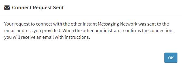 connect request sent